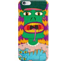 Alfred the Asparagus Monster iPhone Case/Skin