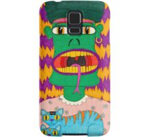 Alfred the Asparagus Monster Samsung Galaxy Case/Skin