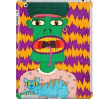 Alfred the Asparagus Monster iPad Case/Skin