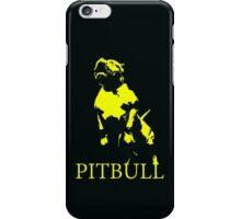 pitbull monster iPhone Case/Skin