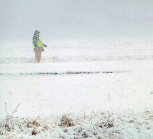 Walking In A Blizzard by WildestArt