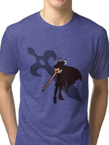 Lucina (Fire Emblem version) - Sunset Shores Tri-blend T-Shirt