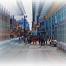 Toronto Dundas Square 3-Available As Art Prints-Mugs,Cases,Duvets,T Shirts,Stickers,etc by Robert Burns