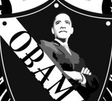 obama : crest & wings Sticker
