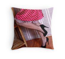 Dots & Nets Throw Pillow