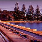 Goolwa Barrage Sunset by Aarron Morris