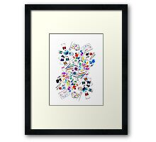 Color the World Framed Print