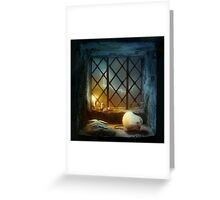 Too Many Scary Stories Greeting Card