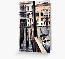 Venice 2 Greeting Card