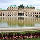Belvedere Palace by Paula Bielnicka