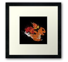 Fire Starter Framed Print