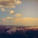 Sunset in Budapest by Paula Bielnicka