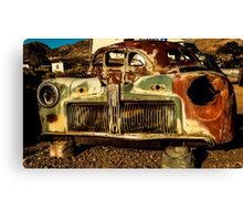 Car Rust Canvas Print