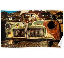 Car Rust Poster