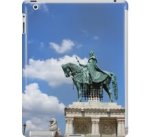 Statue of St Stephen iPad Case/Skin