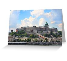 Buda Castle Greeting Card