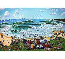 Beach Day, Byron Bay Photographic Print