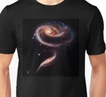 A Rose Made Of Galaxies Unisex T-Shirt