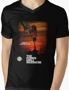 Power Drill Massacre (VHS box art) Mens V-Neck T-Shirt