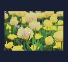 Yellow Tulips Kids Clothes