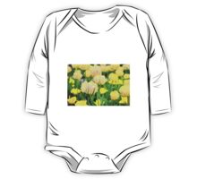 Yellow Tulips One Piece - Long Sleeve