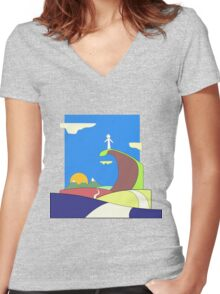 The Conscience Women's Fitted V-Neck T-Shirt