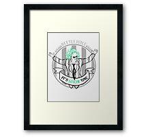 Bio-Exorcist! Framed Print