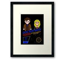NINTENDO: NES DOCTOR WHO  Framed Print