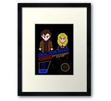 NINTENDO: NES DOCTOR WHO  Framed Print