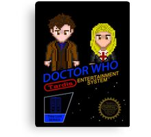 NINTENDO: NES DOCTOR WHO  Canvas Print