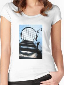 Submarine Stairwell Women's Fitted Scoop T-Shirt