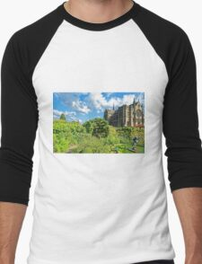 Arundel Cathedral, West Sussex, England Men's Baseball ¾ T-Shirt