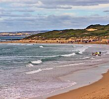 Bancoora Beach SLSC surf carnival by Andy Berry
