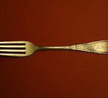 Antique fork by Earl McCall
