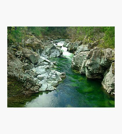 Cowichan Valley Stream Photographic Print