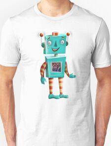 Aqua Robot T-Shirt