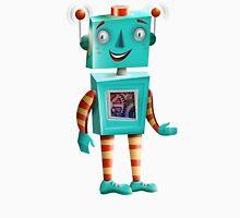 Aqua Robot Unisex T-Shirt