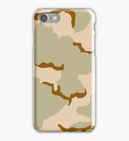 Three Colors Desert Camo iPhone Case/Skin