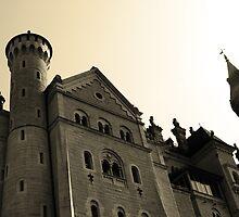 Neuschwanstein Castle by Paula Bielnicka