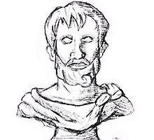 Greek Philosopher Aristotle by joaonakamuraa