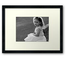 Trying Too Hard To Grow Up Framed Print