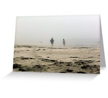 The Fog Rolls in at Tor Bay Greeting Card