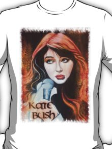 Kate Bush oil painting T-Shirt