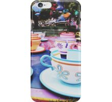 Disneyland's Tea Cups  iPhone Case/Skin