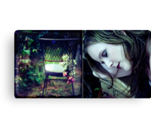 roses for the dead Canvas Print