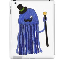 Mr Stinger the Gentleman Jellyfish iPad Case/Skin