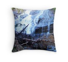 Beulach Ban Falls, Cape Breton Island Throw Pillow