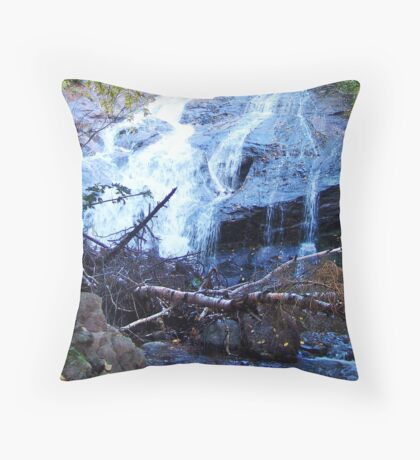 Beulach Ban Falls, Cape Breton Island Throw Pillow