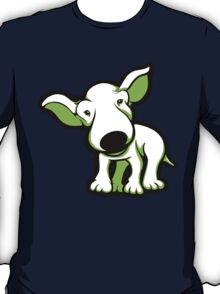 EBT Puppy White and Lime  T-Shirt