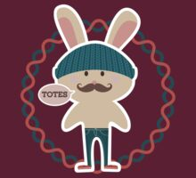 Totes hipster Easter bunny knitted hat skinny jeans by BigMRanch
